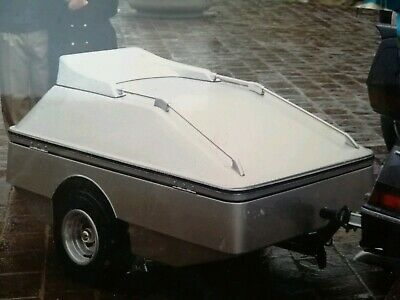 Squire trailers- carrello appendice waterproof,. - beige - sempre in box