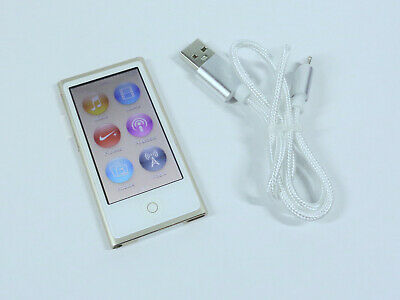 Apple iPod Nano 16GB 7th Gen Generation Gold MP3 WARRANTY