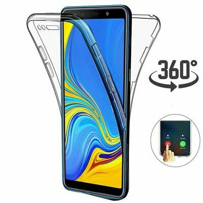 For Samsung Galaxy Note 10 Plus Slim 360° Full Cover Case Soft TPU Shockproof