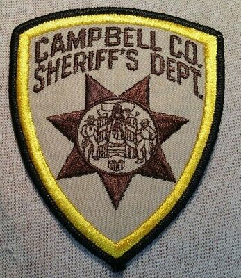 WY CAMPBELL COUNTY Wyoming Sheriff Patch