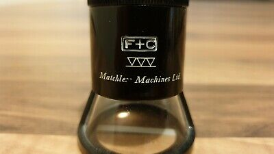 Flubacher & Co Matchless Machines Ltd Small 8x Graticule Micrometer