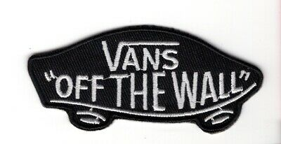 """Vans, """"Off the Wall,"""" embroidery patch"""