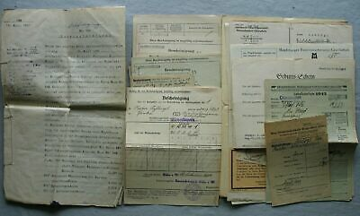 Material Cartas y Documentos 1920/60 Schlögl, Birka Post Otterskirchen