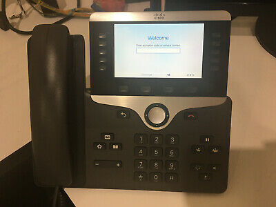 CISCO CP-8851-K9 V04 Color Screen VoIP PoE Business Phone