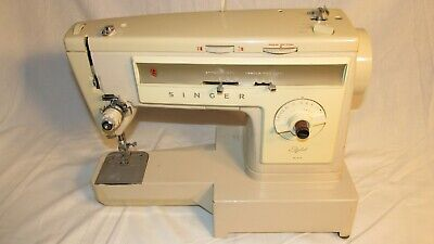 Vintage Singer Stylist Model 533 Sewing Machine - Tested and works great USA