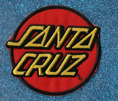 Santa Cruz Logo embroidery patch