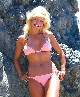 1980-1989 LONI ANDERSON color classic glamour photo (Celebrities)