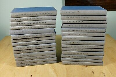 The Yale Shakespeare (Lot of 28 Books) - 3rd Printing Revised Edition 1954