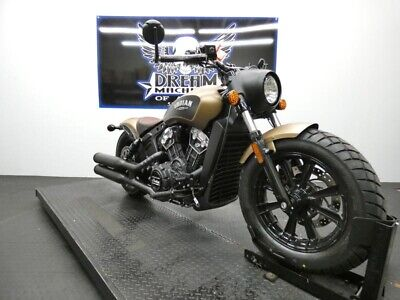 2019 INDIAN MOTORCYCLE® Scout® Bobber ABS Thunder Black