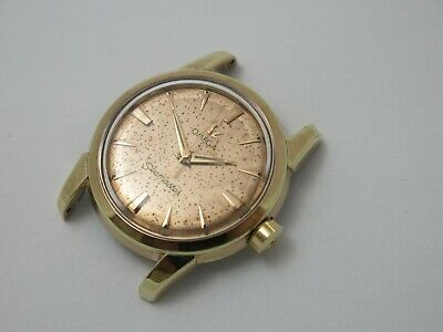 Omega 1950s Seamaster Automatic Mens Gold Capped Wristwatch 31.7mm Ref 2828 12SC