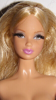 Model Muse Barbie Doll Steffie Face Mold Nude OOAK The Look City Shopper HTF