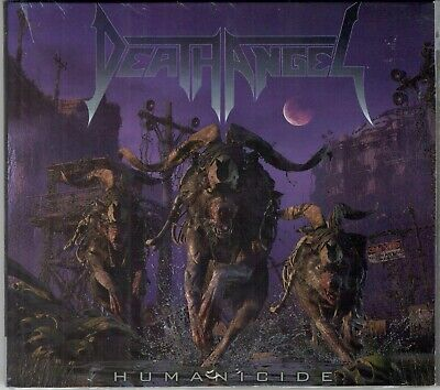 Humanicide DEATH ANGEL CD limited edition + bonus tracks DIJIPACK