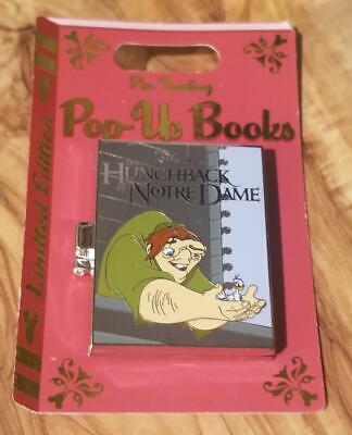 Disney Parks Pop-Up Books The Hunchback Of Notre Dame Hinged Pin LE 4000