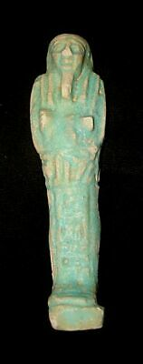 Authentic Egyptian Ushabti Statue  600Bc