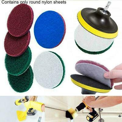 Drill Brush Power Scrubber Scouring Scrub Pad Bathroom Cleaning Tile tablet V8D4
