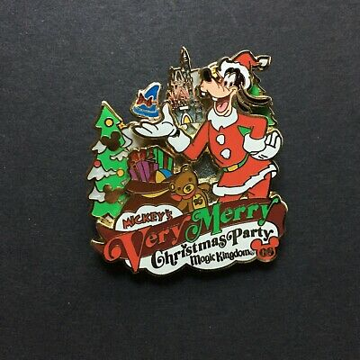 WDW Mickey's Very Merry Christmas Party Goofy Spinner LE 4000 Disney Pin 66341