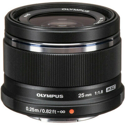 Olympus 45mm f1.8 Black Micro Four Thirds Lens