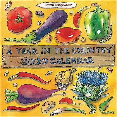 Matthew Rice  A Year in The Country Calendar 2020 New Office Product Book