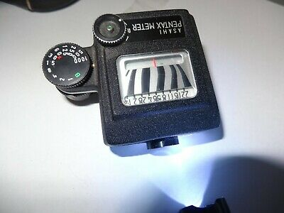 Asahi Pentax CdS Clip-On Exposure Meter for a early pentax camera