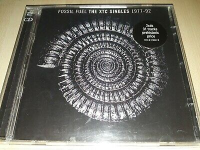 Xtc - Fossil Fuel - The XTC Singles 1977-92 - 2xCD ~(Hits / Best of / Collection