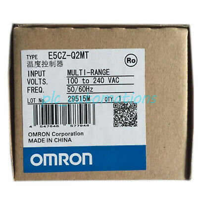 New in box Omron 1pc Temperature Controller E5CZ-Q2MT E5CZQ2MT 100-240VAC