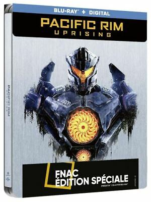 PACIFIC RIM UPRISING Steelbook Blu Ray Edition Fnac NEUF SOUS BLISTER