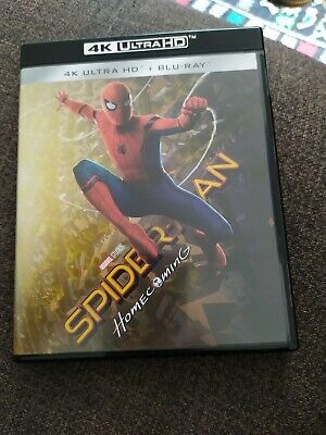 spiderman homecoming 4K complet - bluray comme neuf