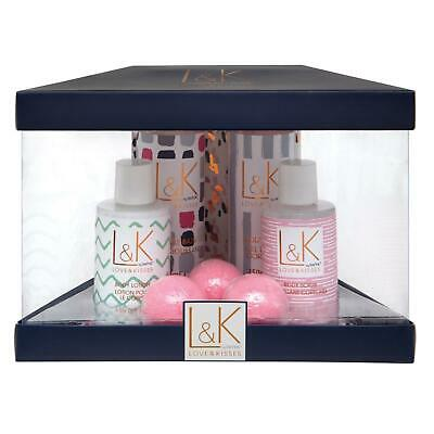 Womens Bath & Body Toiletries Pamper Gift Set Perfect Night Floral Scent By L&K