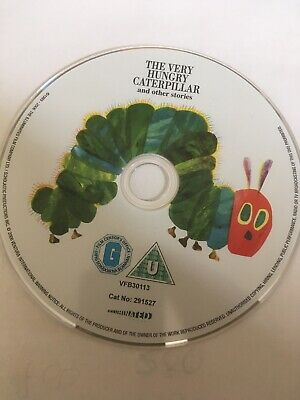 The Very Hungry Caterpillar (DVD, 2006) DVD ONLY
