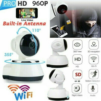 960P HD Wireless WIFI IP CCTV Camera Smart Home Security Night Vision Indoor HOT