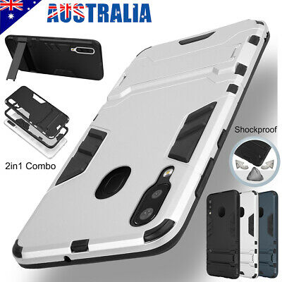 For Samsung Galaxy A20 A30 A50 A70 Case Hybrid Shockproof Stand Heavy Duty Cover