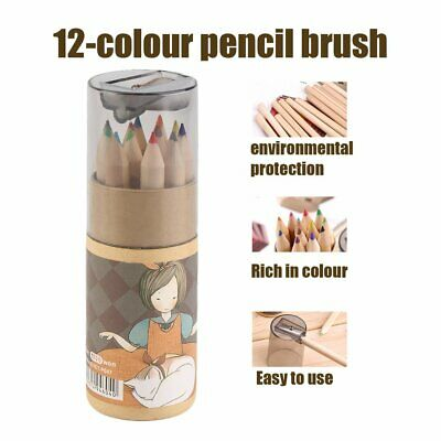12 Different Colores Pencil Set With Sharpener Painting Pencils For Kids+%