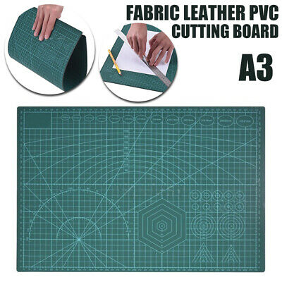 A3 Cutting Mat Pad Craft Quilting Grid Lines Printed Board PVC Self Healing