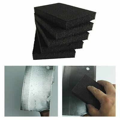 5pcs Magic Emery Sponges Kitchen Supplies Household Cleaning Descaling Tool+%