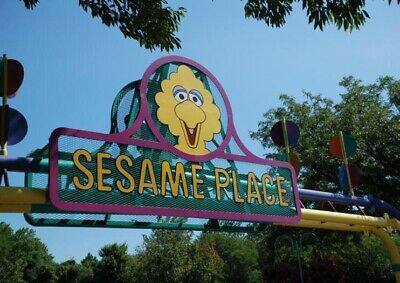 Sesame Place - 2 Admission Tickets
