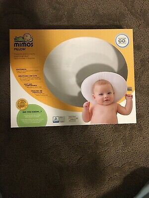 MIMOS Baby Pillow Prevent or Correct Baby Flat Head Plagiocephaly