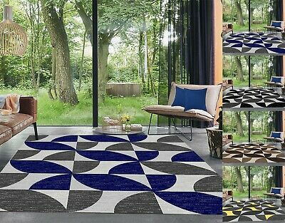 Modern Area Rugs Large Living Room Carpets Geometric Bedroom Hallway Runner Rug