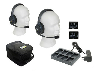 Marine Headsets Eartec UL-2S Intercomsystem - Vollduplex 2 Personen