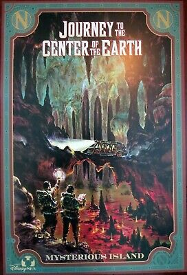 TOKYO DISNEY JOURNEY TO CENTER OF EARTH B2G1 FREE!! COLLECTOR POSTER 4SIZES