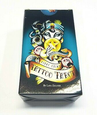 Eight Coins Tattoo Tarot Deck Cards Extreme Sale FULL Stock Liquidation
