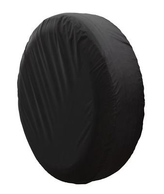 "13"" DIY trailer Spare tire tyre Wheel Cover Protect Case Pure Black Brand New S"