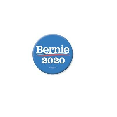 Bernie Sanders For President 2020 Blue 3 Inch Pinback Button Pin