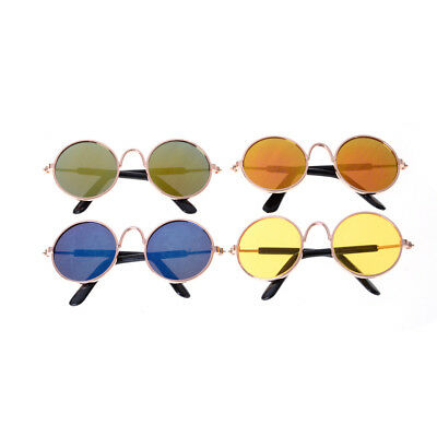 """Doll Accessories Round Colorful Glasses Sunglasses For 18""""_BB"""