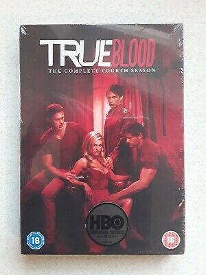 True Blood - The Complete Season 4 - Dvd Boxset (New&Sealed) Free Post