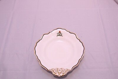 Antique Porcelain Copeland And Garrett Gold Snake Footed Shell Dish Bowl 6622 L