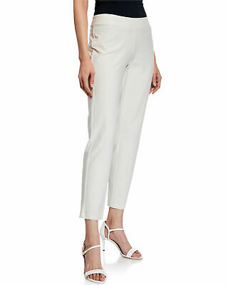 NWT Eileen Fisher Olive Washable stretch Crepe Slim Ankle Pant size 3X $178