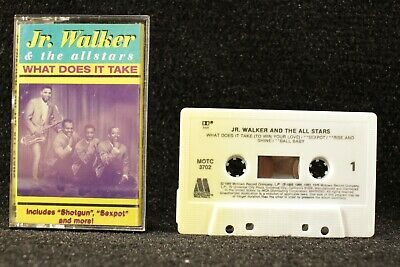 Jr Walker and The All Stars What Does It Take Cassette