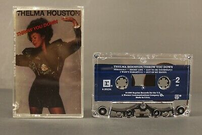 Throw You Down by Thelma Houston Cassette Tape