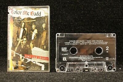 Color Me Badd Time and Chance Cassette R&B 1993 Giant 245244 2nd Studio Album