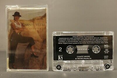 Chante Moore Who Do I Turn To Cassette